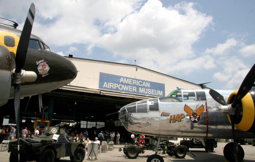 American Airpower Museum Republic Airport