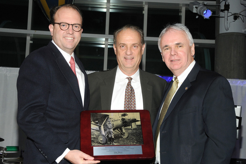 2018 Air & Space Gala Award Cradle of Aviation Museum Tyler Morse