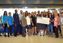 2019 USO Check Presentation JFK Airport