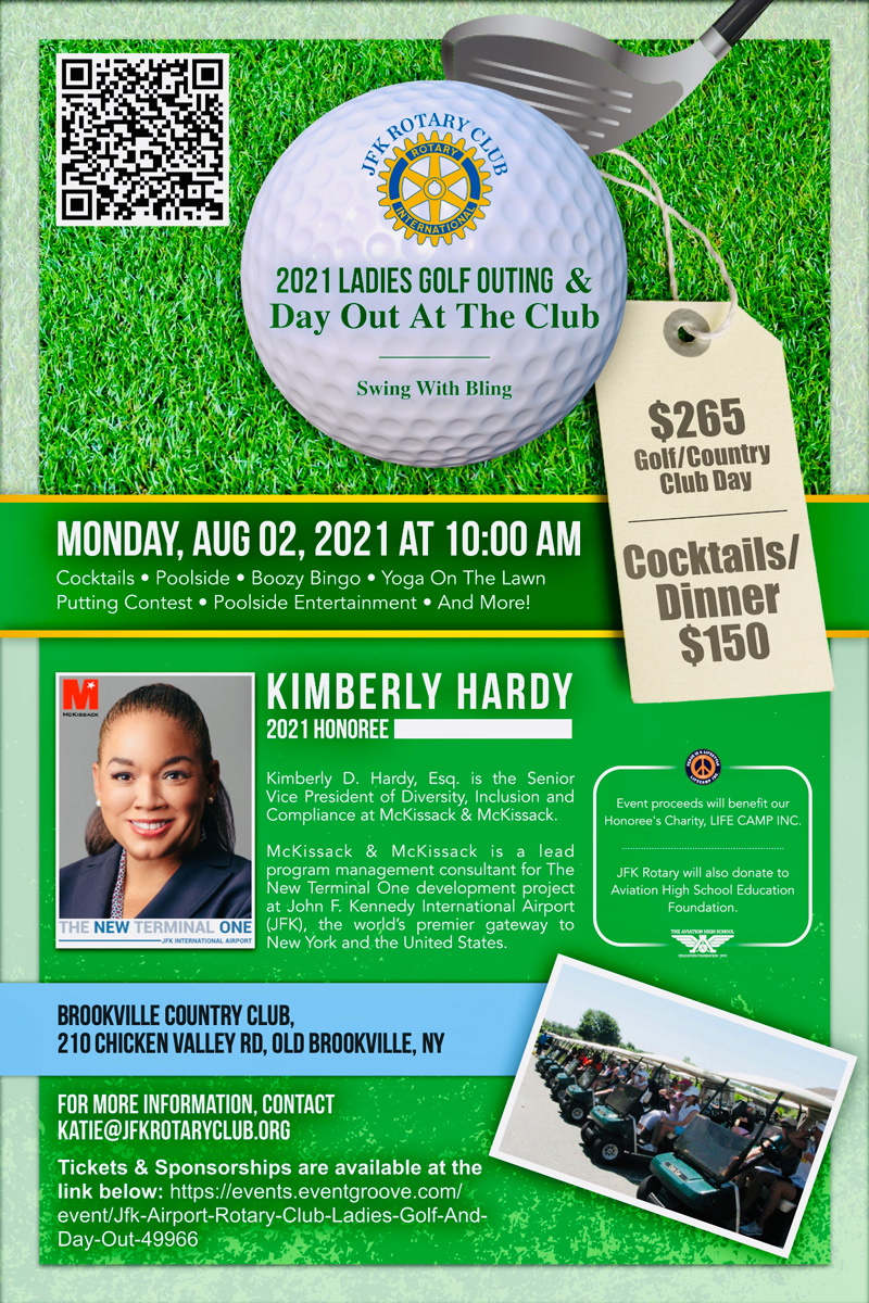 2021 JFK Airport Rotary Golf Outing