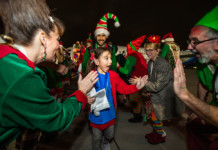 ALASKA AIRLINES FLIES KIDS TO NORTH POLE ON FANTASY FLIGHT