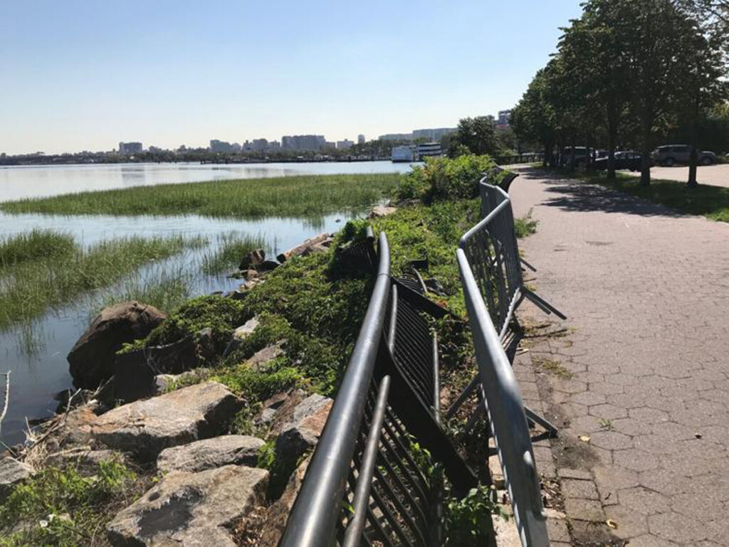 The Port Authority looks to repair and upgrade Flushing Bay Promenade as part of the LGA Air Train project.