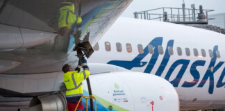 Alaska Airlines Biofuel