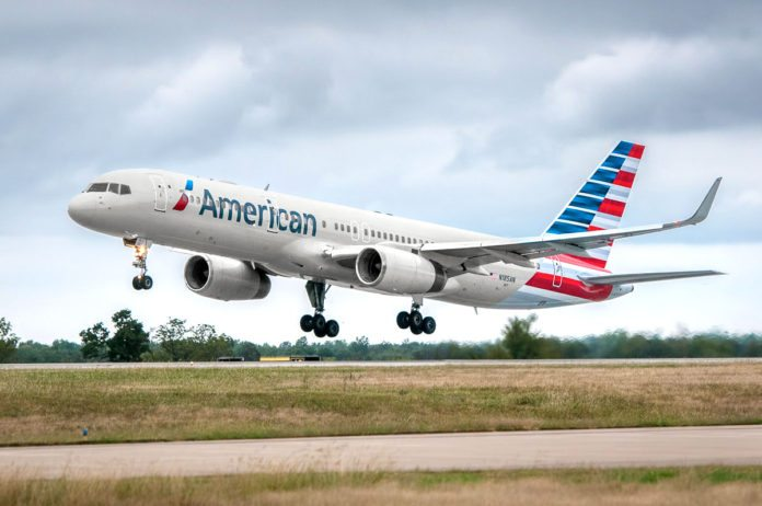 American Airlines Boeing 757