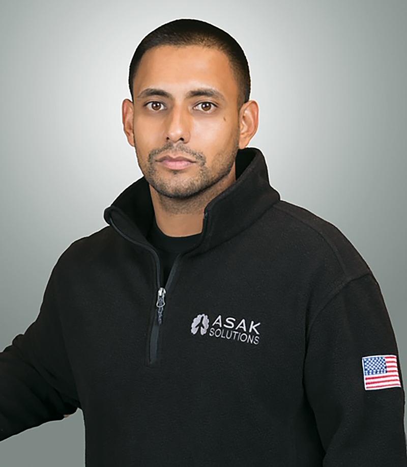 Arnold Sue, President, ASAK Solutions, LLC