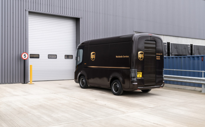 UPS invests in Arrival and orders 10,000 Generation 2 Electric Vehicles