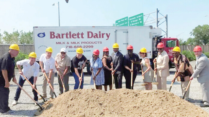 Bartlett Dairy Breaks Ground On Queens Headquarters and Distribution Center