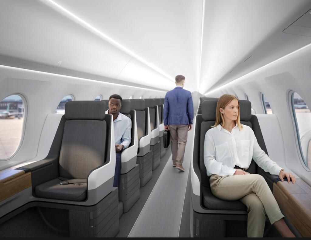 Boom Supersonic Interior