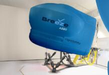 Breeze FlightSafety International A220 Simulator