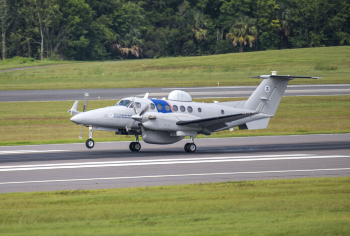 U.S. Customs and Border Protection expands fleet with two more Special Mission Beechcraft King Air 350CER