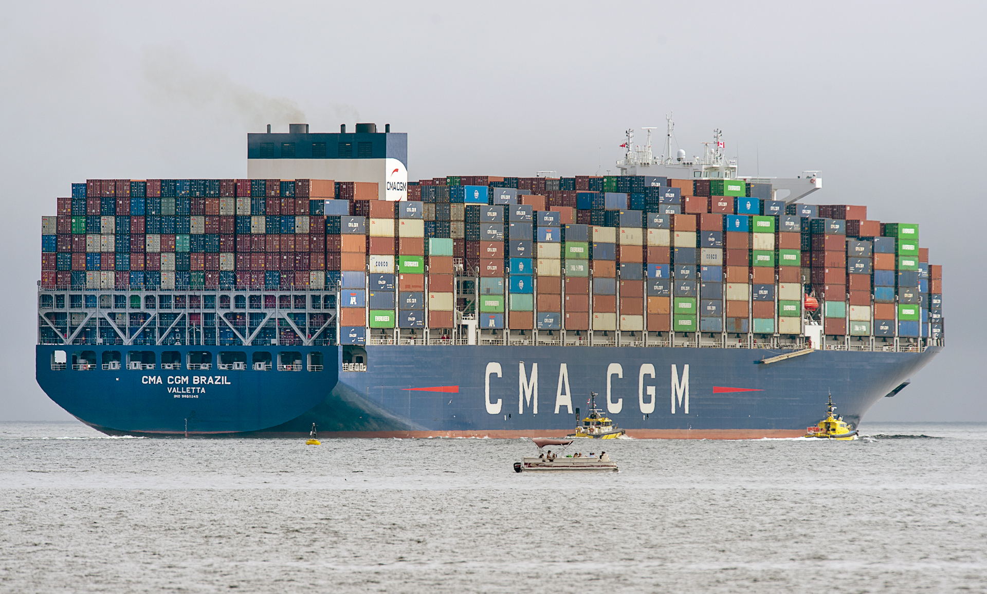 Ny Nj Welcomes Largest Container Ship