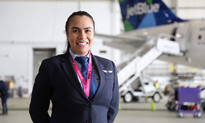 Jet Blue Airline Pilot Camila Turrieta