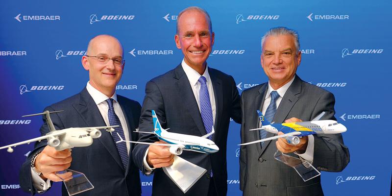 Resultado de imagen para Boeing-Embraer