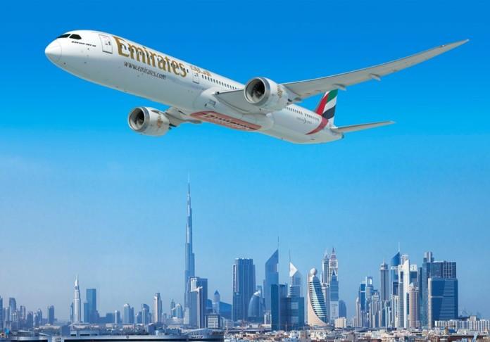 Emirates Boeing 787-10