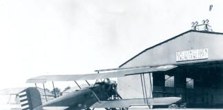 Aircraft Inspection 1927 Engineering Dept Hangar