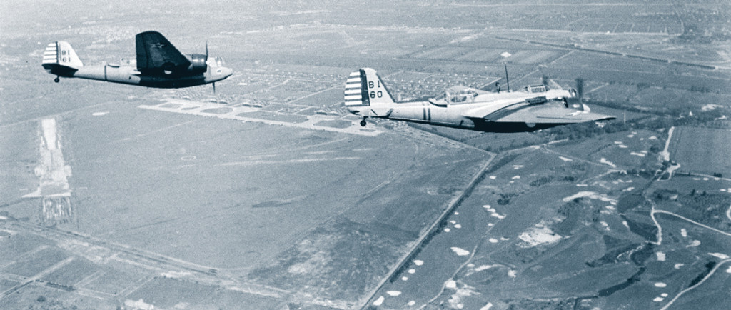 B10 Bomber on worlds first tanscontinental bomber flight.