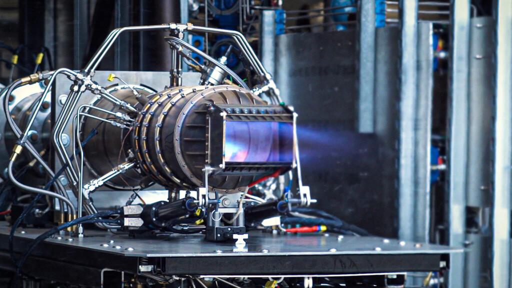 Hermeus Mach 5 Engine