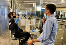 ID check at LGA Airport