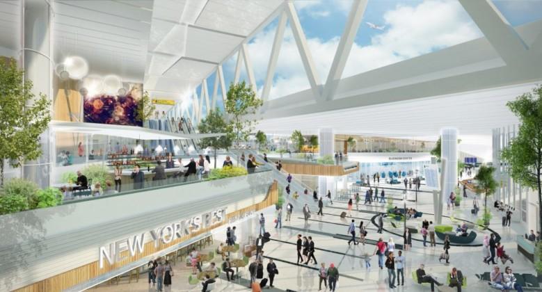 Laguardia Airport Retail and Gate Setting