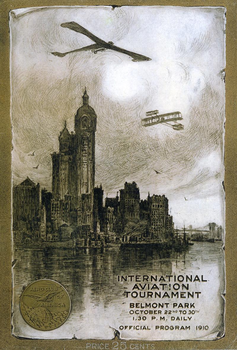 International Aviation Tournament at Belmont Park Program Cover