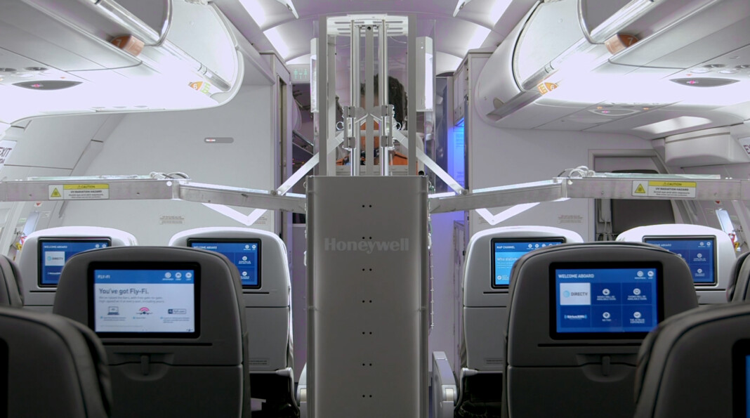 Is UltraViolet the Answer to Sanitizing Passenger Aircraft?