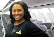 Alaska Airlines Flight Attendant, Charlene Fredericks
