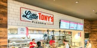 Little Tony's Pizzeria, Terminal-B at Newark Liberty International Airport.