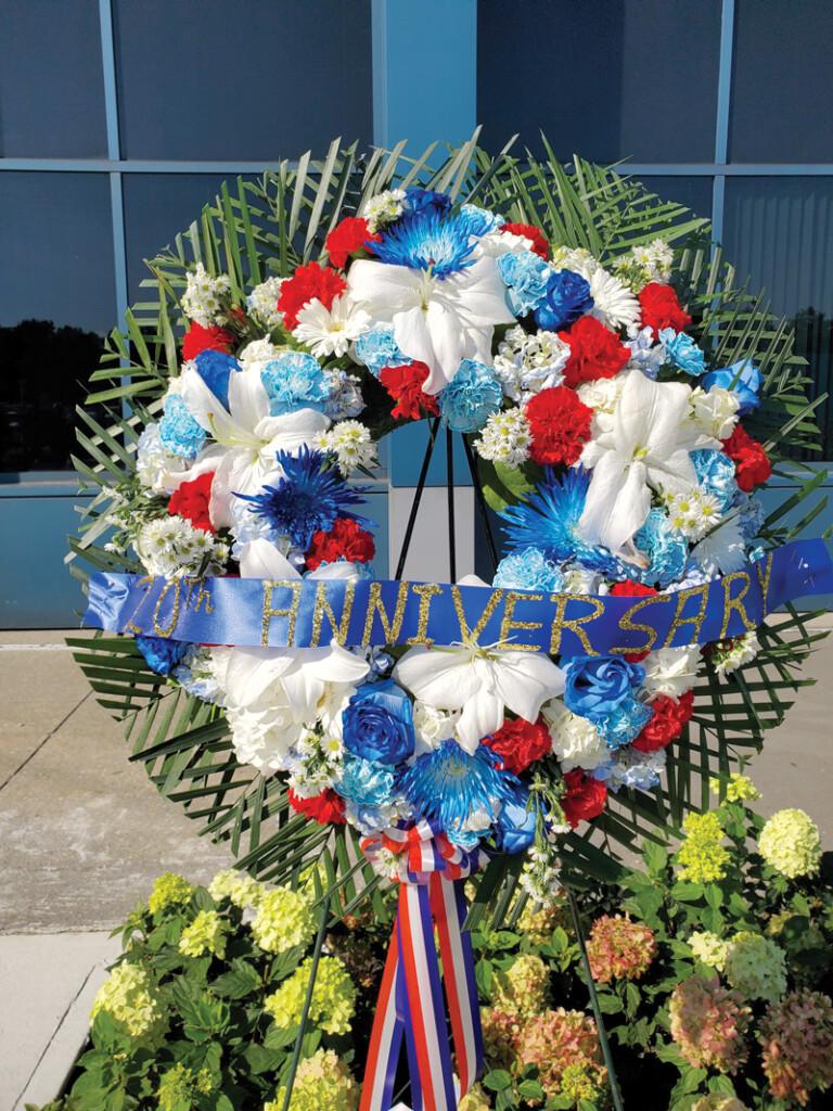 JFK 9-11 Memorial Wreath