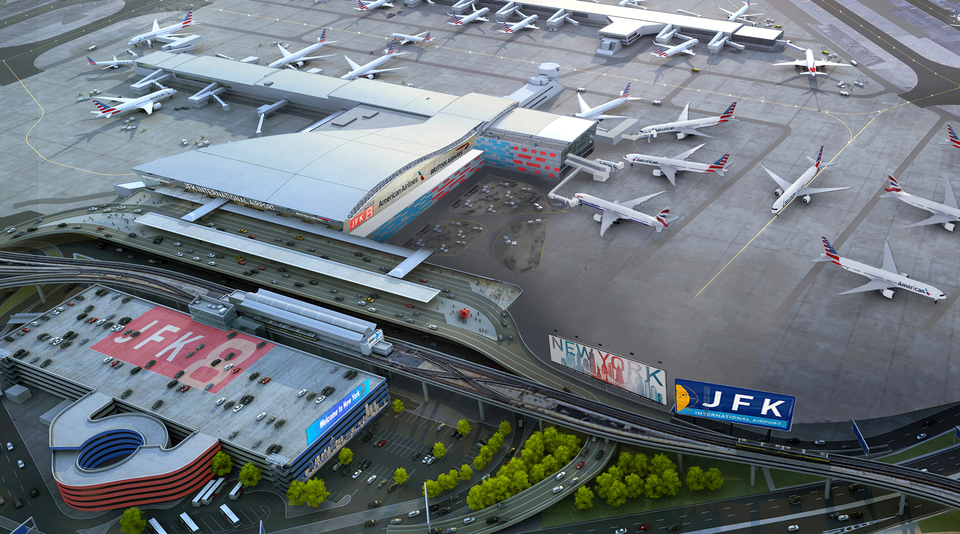 American Airlines and British Airways to Unify Operations at JFK Airport