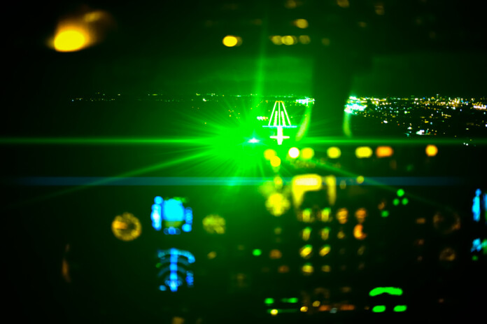 JFK Airport Laser Attack