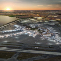 $13 billion plan to transform John F. Kennedy International Airport into a modern 21st century airport