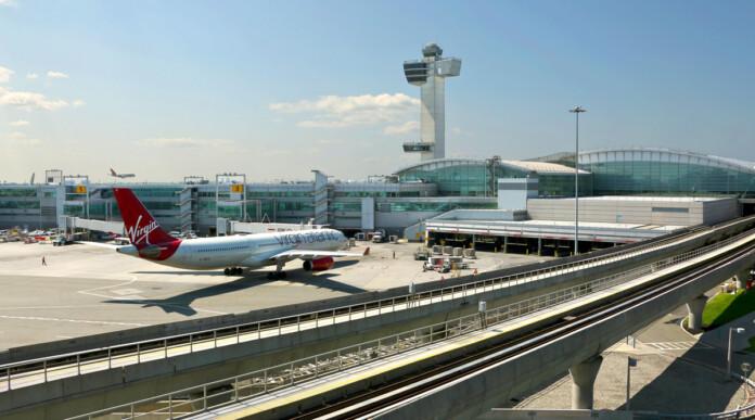 JFK Airport Tower Virgin Atlantic Airline