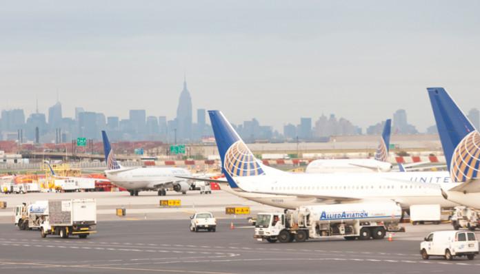 New York JFK Airport Trucks