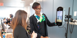 Biometric boarding capabilities now available at 27 international gates throughout JFK Airport's Terminal 4