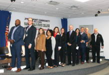 The JFK Airport Chamber of Commerce Hosts Panel Discussion for Farmingdale College Aviation Program Students