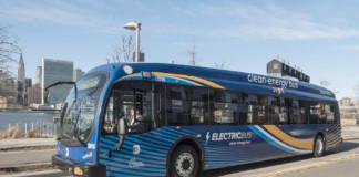 JFK Airport Electric Bus