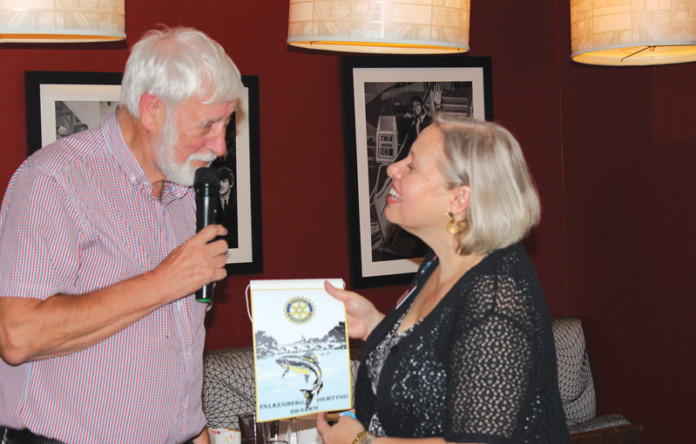 JFK Rotary Hosts Fellow Rotarians From Sweden