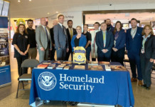 JFK Airport's Terminal 4 Hosts Blue Campaign Event With DHS
