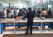 JFK Airport TSA GUN