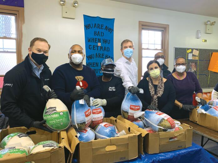 JFKIAT Donates More Than 200 Turkeys