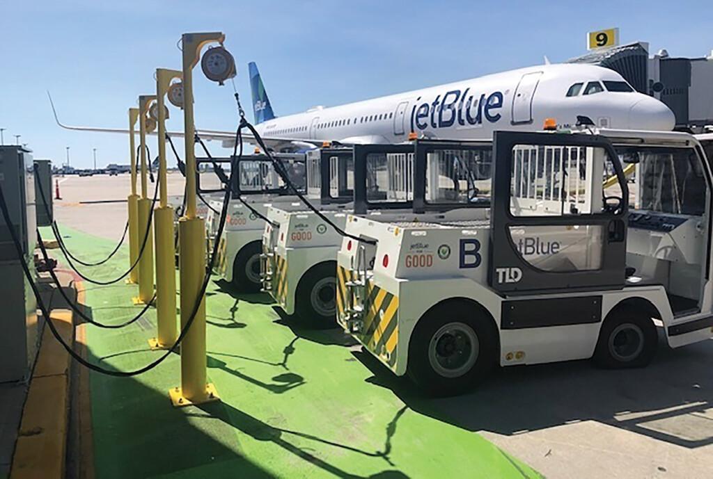 JetBlue Electric Ground Servicee