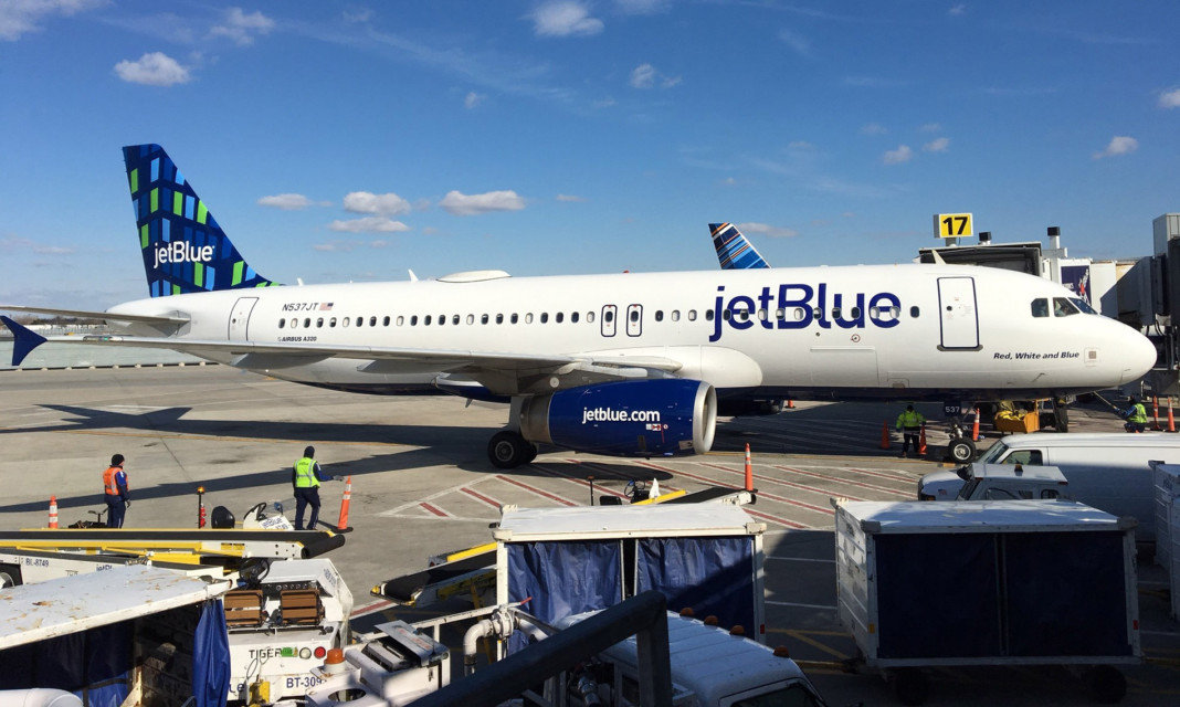 JetBlue Highrise Tail Design