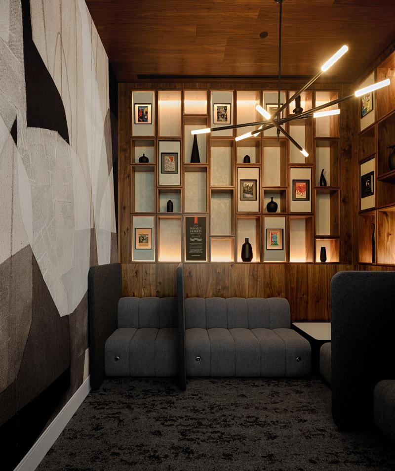 The Centurion Lounge at LaGuardia Airport