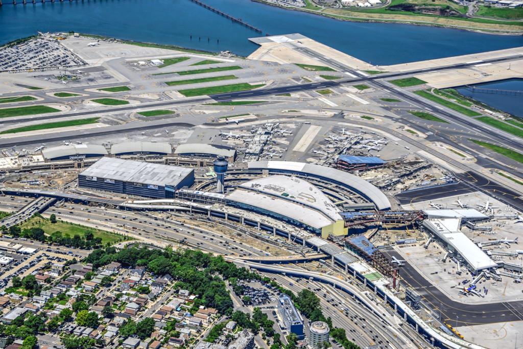LaGuardia Airport Aerial View