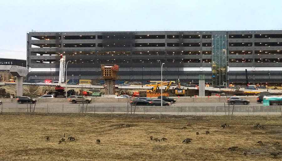 New Terminal B Parking Garage Open For Business At Laguardia Airport