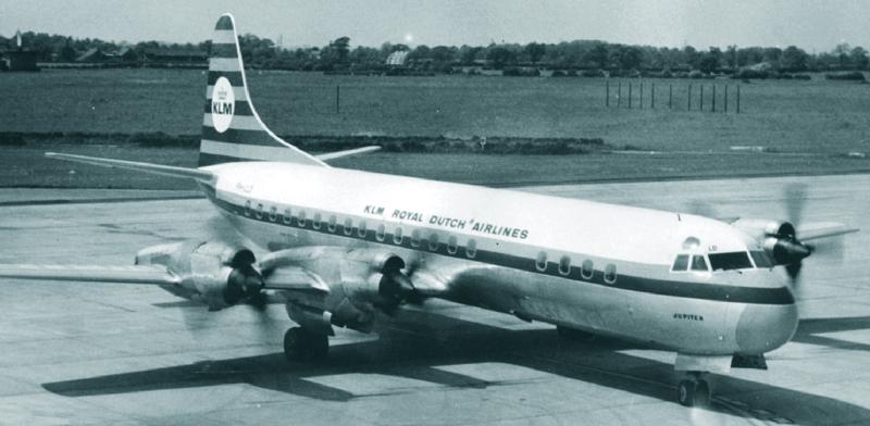 """Lockheed L188C Electra PH-LLD """"Jupiter"""" of KLM"""