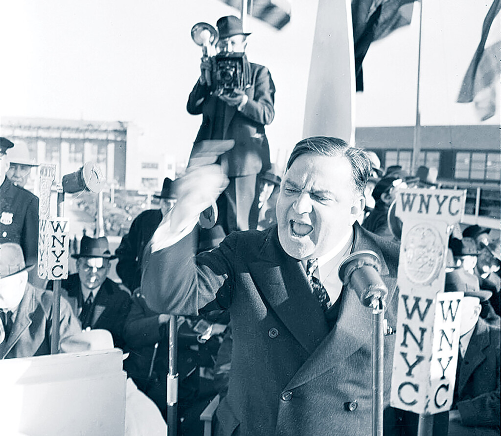 MAYOR LAGUARDIA-TOOK THE BULLY PULPIT TO PUSH FOR NY AIRPORT