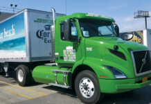 Manhattan Beer CNG Tractor