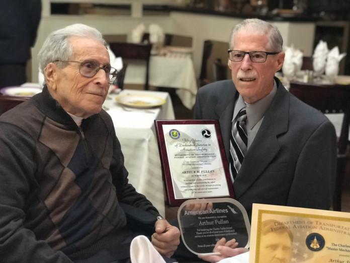 Master Mechanic Award Arthur Fullan American Airlines