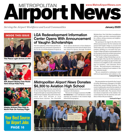 January 2020 Metropolitan Airport News